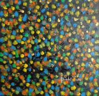 Pioggia - 50x50 - acrilico su tela - 2015